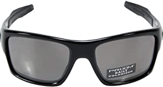 913abf541 Oakley TURBINE OO9263 06 Preto Polido Lente Polarizada Preto Iridium Tam 65