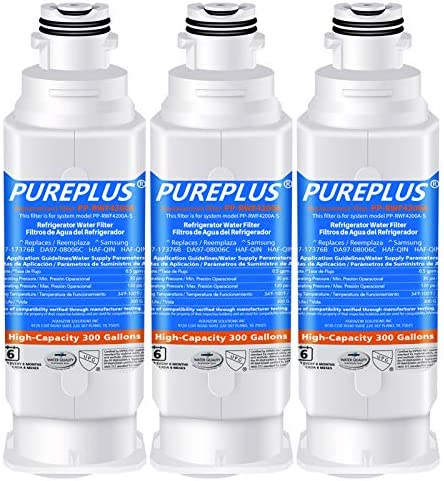 PUREPLUS DA97 17376B Water Filter Replacement for Samsung HAF QIN HAF QIN EXP DA97 08006C RF23M8070SG product image