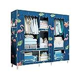 HPYR Schlafzimmer große Kapazität Massivholz Kleiderschrank, Modular Storage Organizer, schweres...
