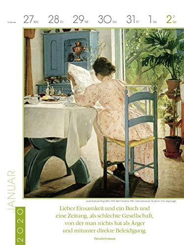 Literaturkalender Frauen lieben Lesen 2020: Literarischer Wochenkalender - 6