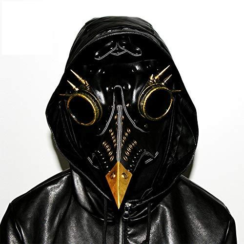 SC Halloween Bird's Mouth Mask Pu lederen materiaal met ventilatiegaten comfortabele en ademende vakantie rekwisieten geschenken