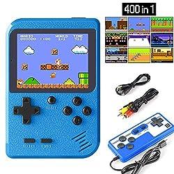 ▲ 400 giochi Super Classic integrati --- Tutti i giochi retrò incorporati nei giochi 400 FC, tra cui Super Mario, Contra, e altri classici giochi FC. E questo recupererà la tua memoria d'infanzia. Riporta te e i bambini al divertimento della tua infa...