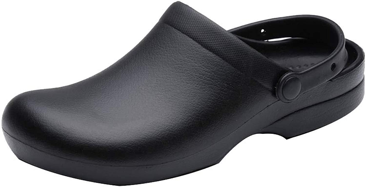 ONCEFIRST Men's and Women's Slip Resistant Work Clog Lightweight Nursing or Chef shoes