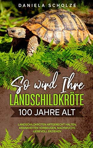 So wird Ihre Landschildkröte 100 Jahre alt: Landschildkröten artgerecht halten, Krankheiten vorbeugen, Nachwuchs liebevoll erziehen (Schildkröten Ratgeber Band, Band 1)