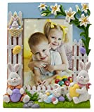 Fine Photo Gifts 5x7 Easter Bunny Picture Frame