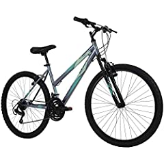 Assembly tutorial video located beside the images; with a charcoal gloss hardtail frame and 21 speeds to conquer the trails, the Stone Mountain is ready for outdoor adventures; just follow the steps in our product manual An exclusive: Ideal for ages ...