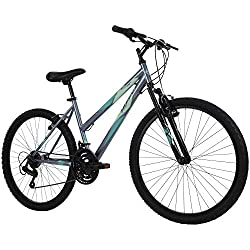 top rated Mountain bike Huffy Hardtail, Stone Mountain, 26 inches, 21 speeds, coal, wheels 26 inches / 17 inches … 2021