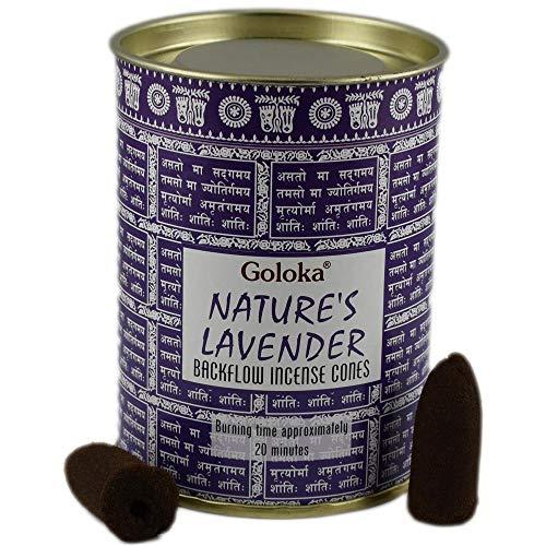 Goloka Incienso Nature´s Lavender (Lavanda) - 18U