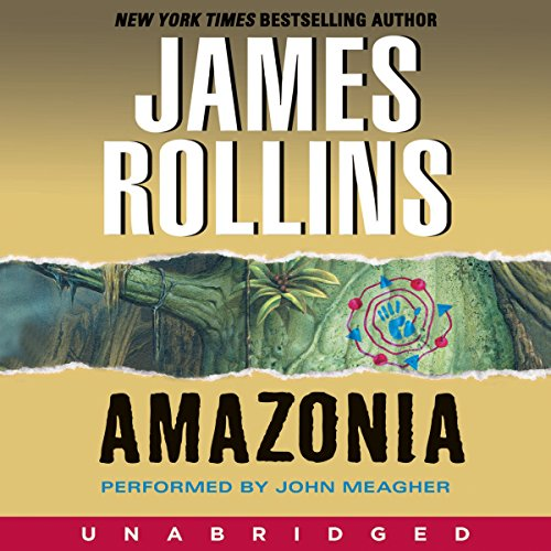 Amazonia audiobook cover art