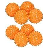 Duokon Bolas de lavandería, 8 Bolas de Secado de Ropa Reutilizables Bola de Lavado de Ropa para la Limpieza de la Secadora Suavizar la Ropa saldrá Suave, esponjosa, con Menos Arrugas