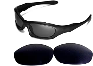 Galaxy Replacement Lenses For Oakley Monster Dog Sunglasses Black Polarized