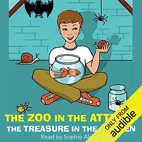 The Zoo in the Attic & The Treasure in the Garden cover art