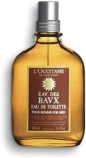 L'Occitane Woody Eau des Baux Eau de Toilette for Men, 3.4  Fl Oz