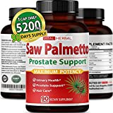Saw Palmetto Capsules Equivalent to 5200mg...