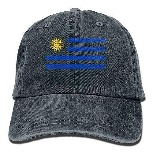 Ocaohuahuaba Bandera Uruguay Unisex Ajustable Gorra de béisbol Gorras Denim Sombreros de Vaquero Deporte al aire libre