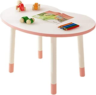 CHAXIA Child Table Chair Pea Study Tables Adjustable Height Correcting Sitting Posture Durable Bearing Strong  Colors  Color Pink  Size