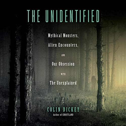 The Unidentified audiobook cover art