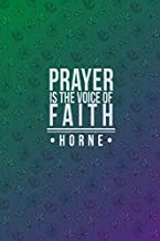 prayer is the voice of faith