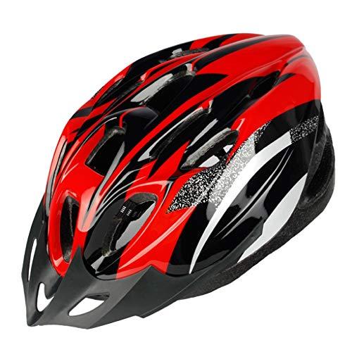 Blingko Fahrradsattel für Damen Herren Kinder mit überzug & Installationstool Fahrradsitz Fahrrad Sattel für Mountainbikes, Rennräder, MTB, Trekkingräder Wasserdicht (Rot)