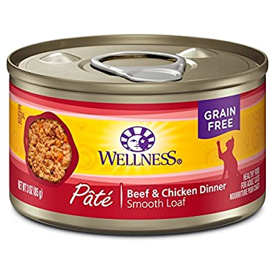Wellness Complete Health Pate Beef & Chicken Dinner ( Pack of 24 )