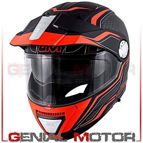 Casco Uomo X33 Canyon Moto Givi Helmet Apribile Taglia Xxl HX33FLYBE63