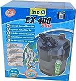 TETRA EX 400 Plus - Filtre Extérieur pour tout type d'aquarium de 10 à 80L – Performant, puissant, silencieux – 5 types de filtration – Fonction de préfiltration - Garantie 3 ans