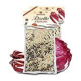 Brezzo Risotto de Radicchio con Arroz Carnaroli Italiano   2 Paquetes de 300g
