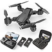 HR H3 RC Quadcopter Drone with Camera 2 Batteries and Carrying Case