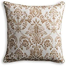 Maison d' Hermine Allure 100% Cotton Decorative Pillow Cover 20 Inch by 20 Inch. Perfect for Thanksgiving and Christmas