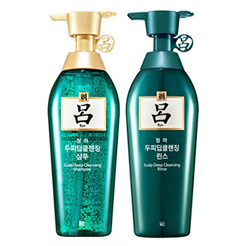 Amore Pacific [Ryeo] Chung Ah Mo Shampoo 500ml for Oily Hair with Dandruff + Conditioner 500ml