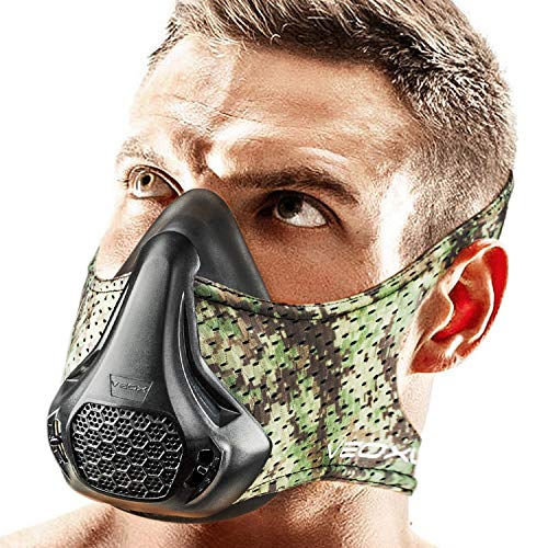 Purchase VEOXLINE Training Mask | 24 Breathing Resistance Levels - Sport Workout Running Biking Fitn...