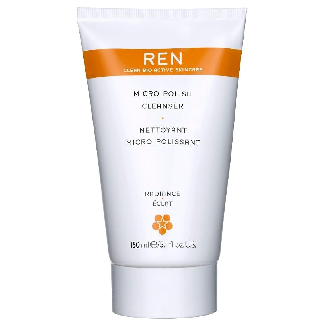 ライトニング療法ダウンタウンRenミルコ磨きクレンザー、150ミリリットル (REN) (x6) - REN Mirco Polish Cleanser, 150ml (Pack of 6) [並行輸入品]