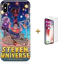 Kit Capa Case TPU iPhone X - Steven Universe + Pel Vidro (BD30)