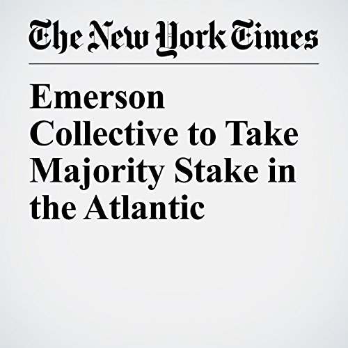 Emerson Collective to Take Majority Stake in the Atlantic copertina