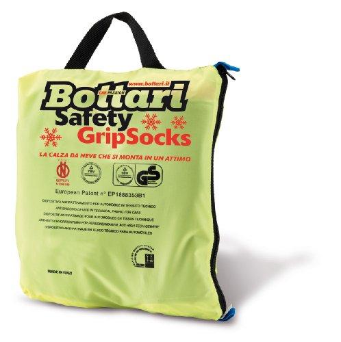 Bottari 68044 Chaussettes à neige en textile, Taille 74, Compatibles ABS et ESP, certifiées TÜV/GS et ÖNORM V5121