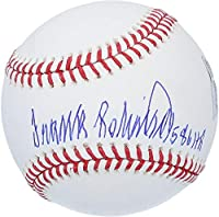 "Frank Robinson Baltimore Orioles Autographed Baseball with""586 HR"" Inscription - BAS - Fanatics Authentic Certified"