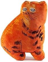 Kidrobot Andy Warhol Plush Cat Pillow (Orange)