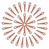 NASUM Cuchillas de Plástico Hierba, Cuchillas Cortador de Césped, Cuchilla de Repuesto para Desbrozadora Electrica, Cuchillas para Cortacésped, Utilizado para Cortar en el Jardín(35PCS)