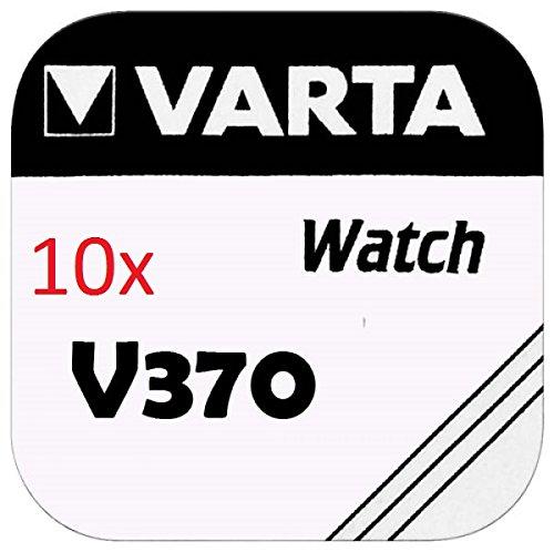 VARTA pILES bOUTON Lot de 10 - V370