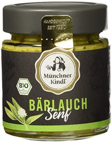 Münchner Kindl Bärlauch Senf, 6er Pack (6 x 125 ml)