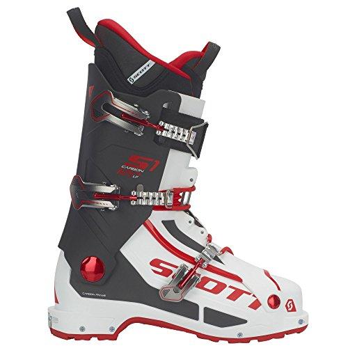 SCOTT INVIERNO Bota Esqui S1 Carbon Longfiber White/Red 26.5/41.0