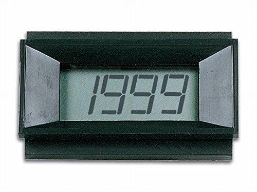VELLEMAN - PMLCD Panel meters & Multimeters Digitales LCD-Panelmeter, 68 mm Breite x 44 mm Höhe, 9 VDC 145006