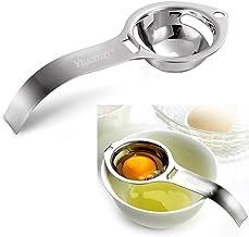 Egg Separator Egg Yolk White Filter Food Grade Egg Divider Stainless Steel Egg Sieve Kitchen Gadget Cooking/Baker Tool Egg...