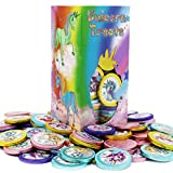 Best Chocolate Coins - Rainbow Unicorn Chocolate Coins With Stickers, Milk Chocolate Review