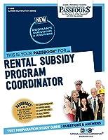 Rental Subsidy Program Coordinator (Career Examination)