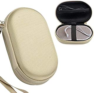 CaseSack Sand P2 Case for B&O Play by Bang & Olufsen Beoplay P2 Portable Bluetooth Speaker, Mesh Pocket for Cable, Elastic...
