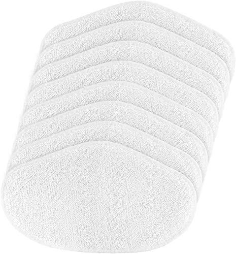 LHHNBY Pack de 8 paños de microfibra lavables para Polti Vaporetto PAEU0332
