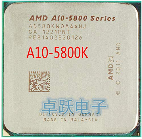 A-Series A10-5800K A10 5800K FM2 Quad-Core CPU 100% Working Properly Desktop Processor
