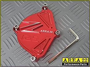 Area 22 Kawasaki Z125 Pro Engine Cam Cover RED