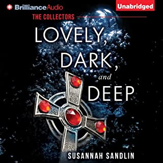 Lovely, Dark, and Deep audiobook cover art